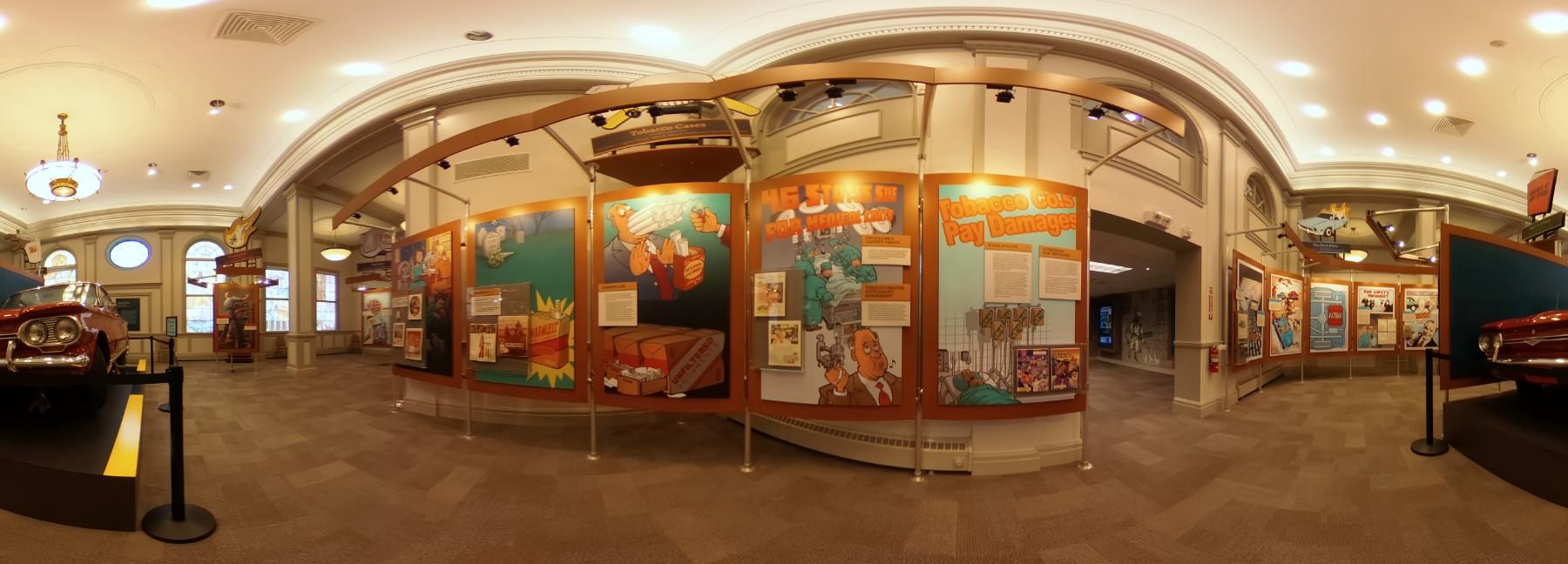 Tort Museum virtual tour